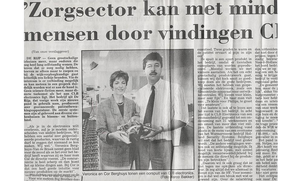 """<span class=""""timelineyear"""">1990</span><h4 class=""""timelinetitle"""">Eerste persmoment</h4>"""